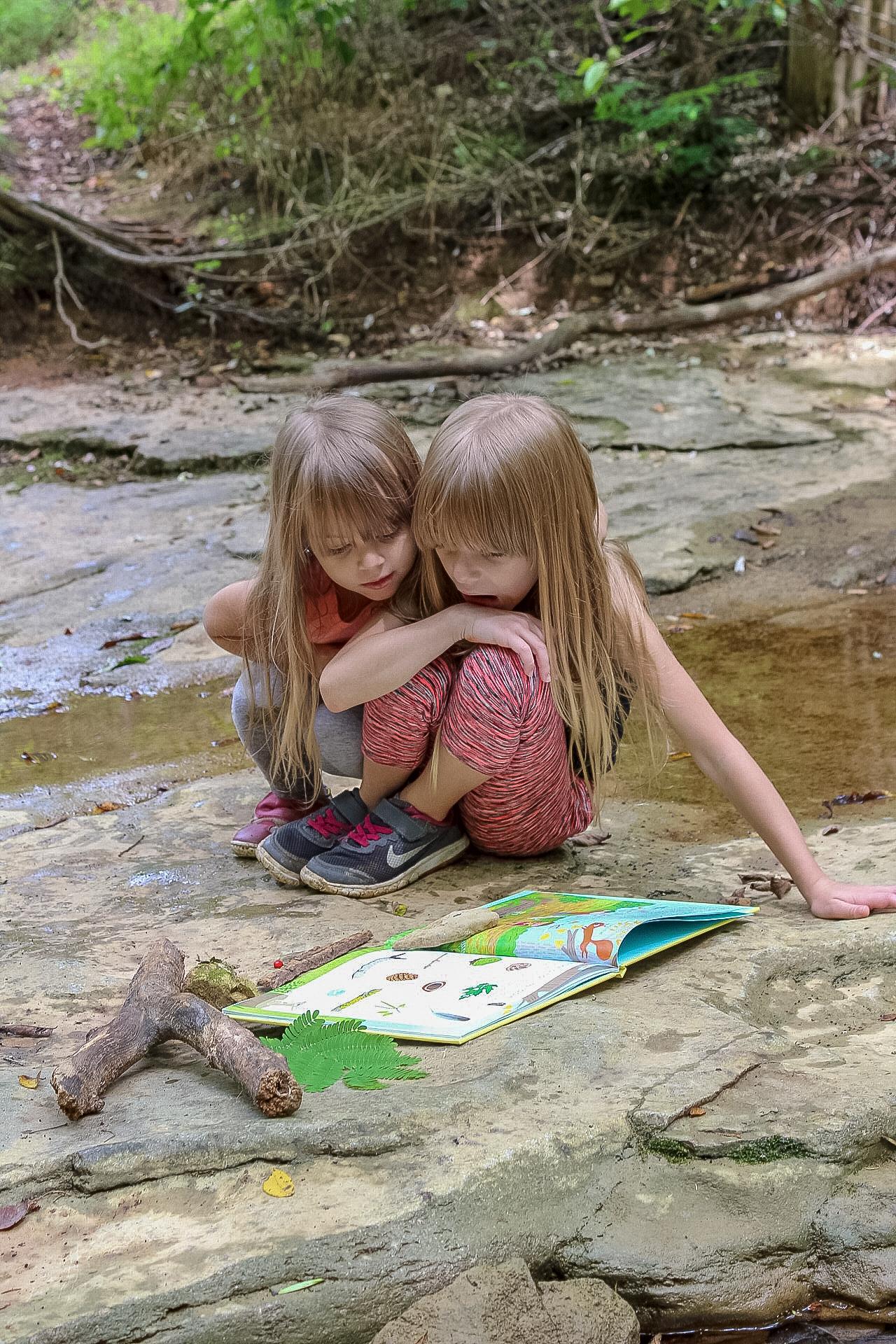 nature books usborne