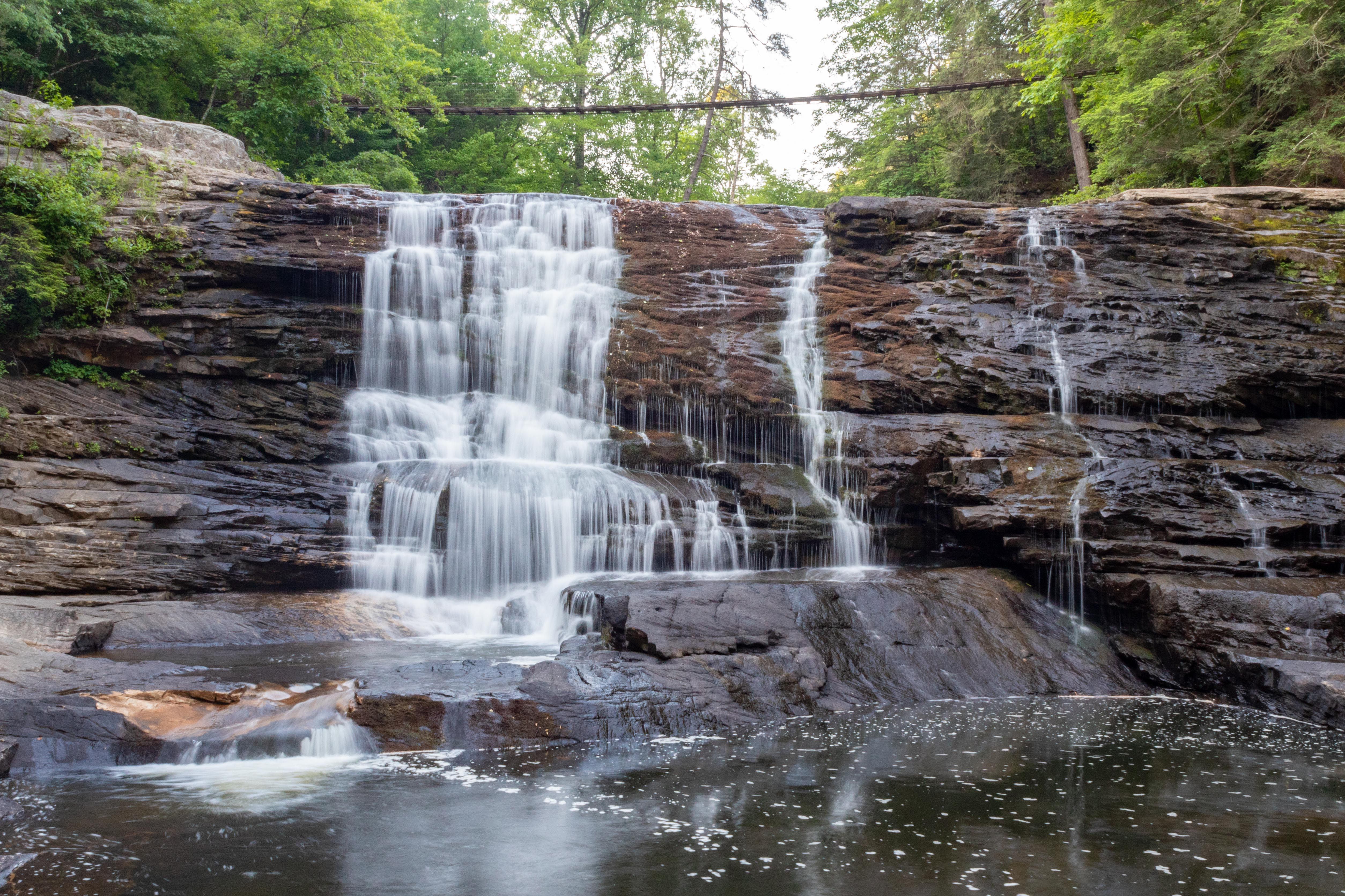 cane creek falls rockhouse falls fall creek falls state park tennessee hiking nature outdoors